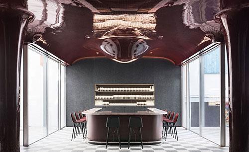 Hotel Les Bains, bar