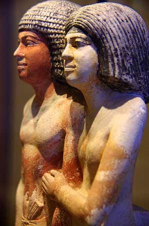 Museu do Louvre. Scribe et sa femme. Vasse Nicolas,Antoine no Flickr
