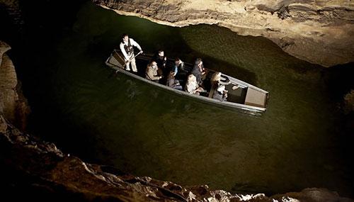 Padirac e seu rio subterrâneo
