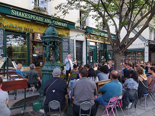 Eventos da Shakespeare and Company