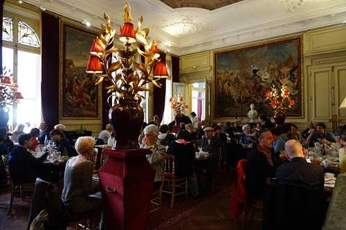 Restaurante do museu Jaquemart André