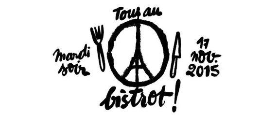 """Campanha """"Todos no bistrô"""" incentiva os parisienses a continuar a frequentar restaurantes e bares em Paris."""