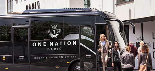 Ônibus privado da One Nation