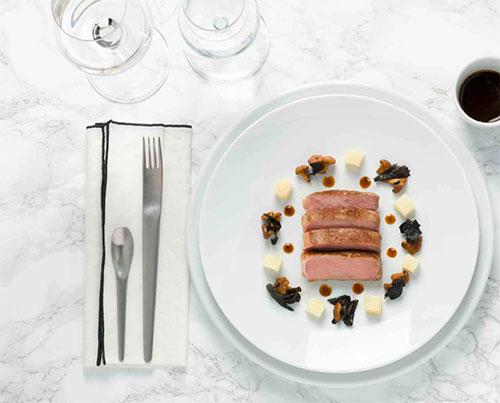 Um dos pratos da proposta