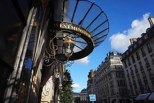 Hotel Westminster em Paris
