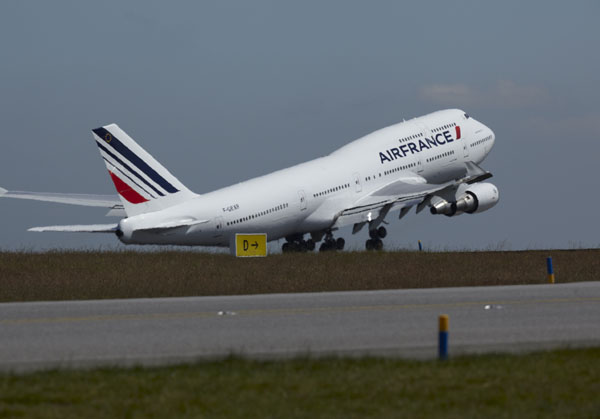 Os Boeings 747 da Air France chegam ao fim de uma carreira de mais de 40 anos