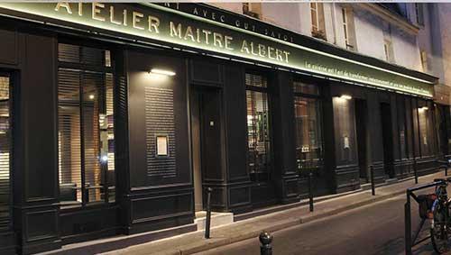 Atelier du Maître Albert de Guy Savoy