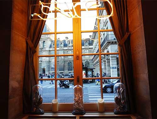 Louvre, da janela do Nemours