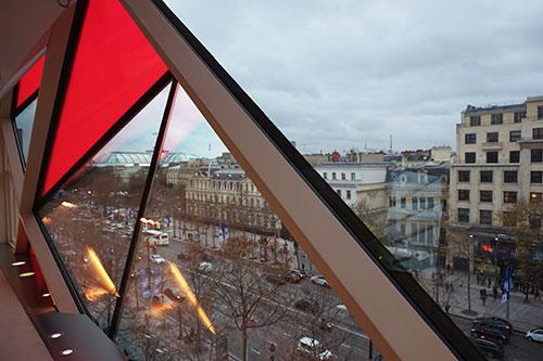Grand Palais, visto da Citroën