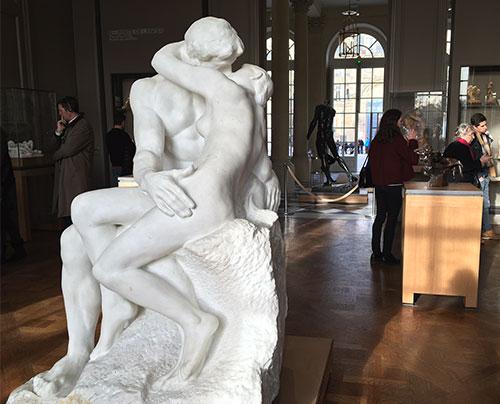 O Beijo, Rodin