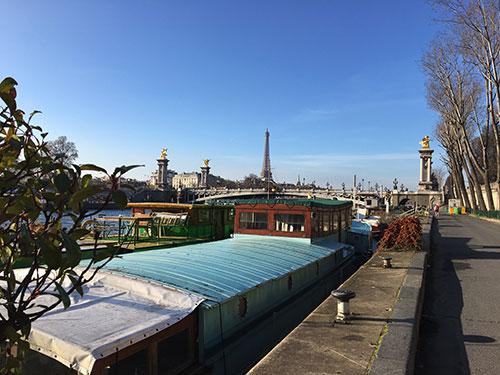 Port des Champs Élysées
