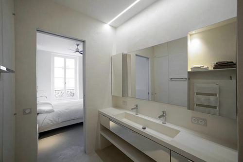 Suite apartamento ilha Saint Louis