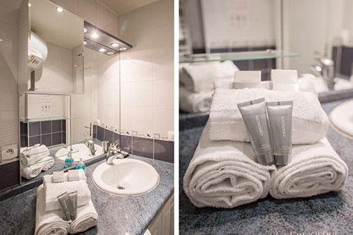 Banheiro do quarto e sala