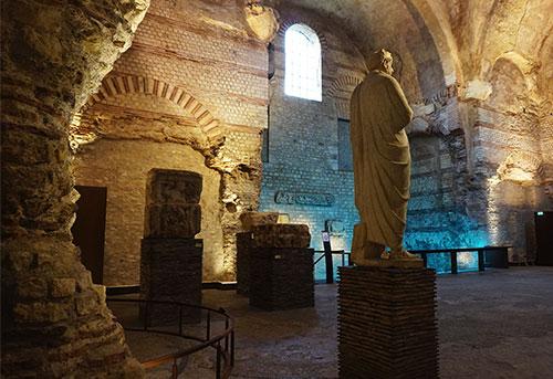 Termas romanas do Museu Cluny