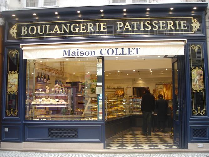 Maison Collet: típica padaria-confeitaria em Paris