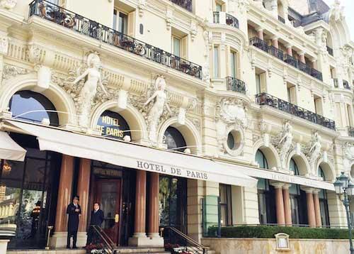 Hotel de Paris. Mari and the City