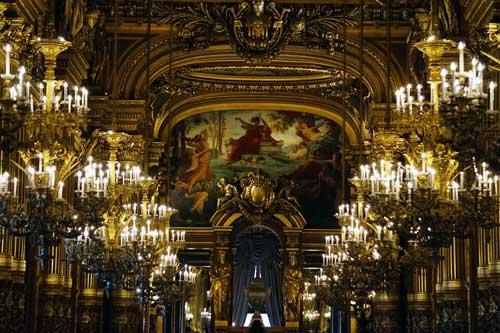 Sala de recepção da Opera Garnier