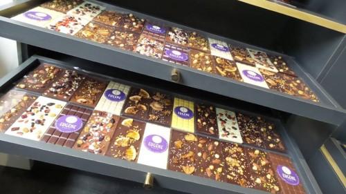 Os chocolates