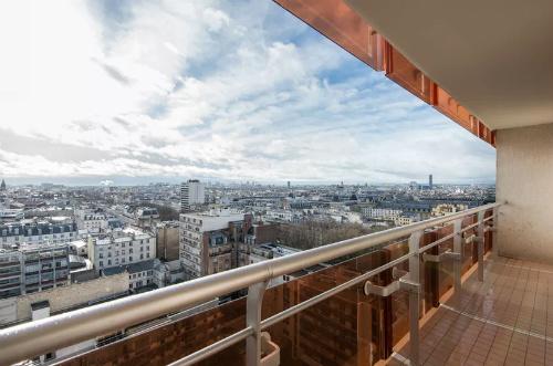 Apartamento para alugar com vista de Paris