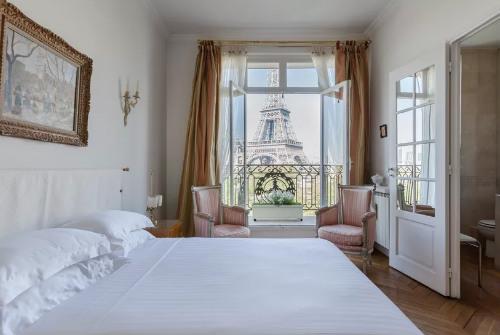 Apartamento para alugar em Paris com vista para a Torre Eiffel