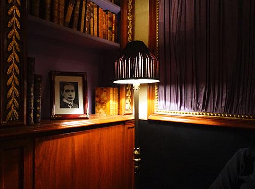 Decoração do bar