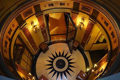 Vista do segundo andar; Foto Conexão Paris