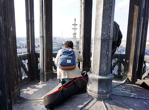 Fabrizio Rosa, imagens e edição dos vídeos do Conexão Paris