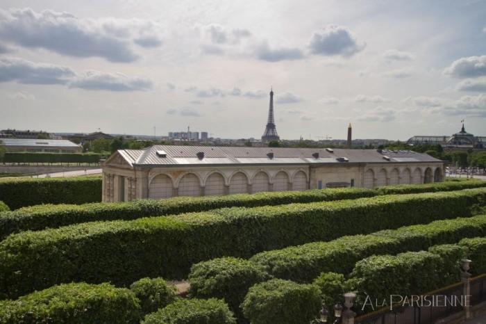 Apartamento para alugar com vista para o Jardin des Tuileries em Paris
