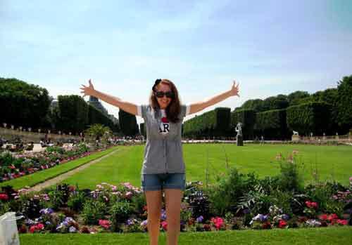 Joaana, leitora do blog que viajou sozinha em 2010