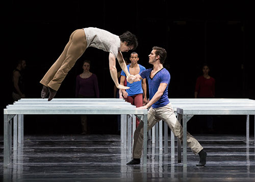 William Forsythe, One Flat Thing, Reproduced