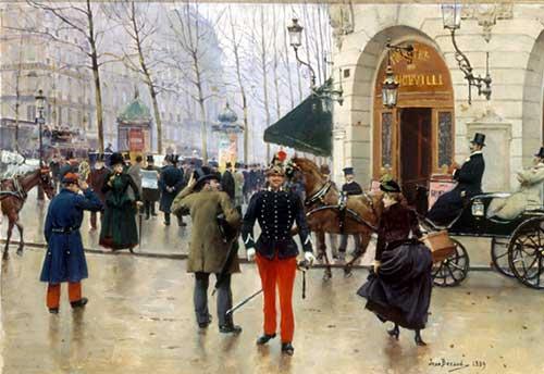 Boulevard Capucines, Jean Béraud, 1889 Musée Carnavalet