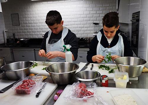 Curso de culinária em Paris