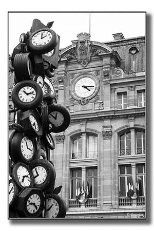 Empilhamento de relógios. Gongashan no Flickr