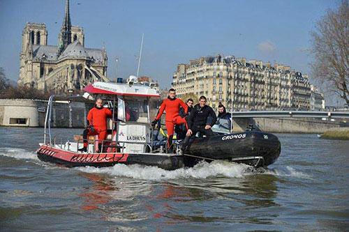 Projeto simulação inundação do Sena