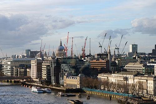 Londres, ocupação do solo mais livre que em Paris