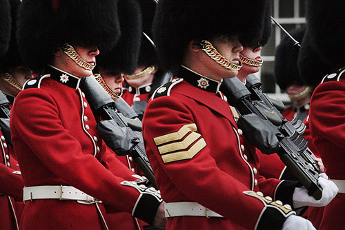 The Queen's Guard. Steve Evans no Flickr