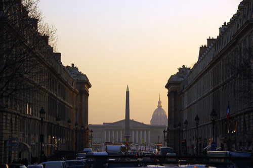 Assembléia Nacional vista da Madeleine. Tim Lam no Flickr