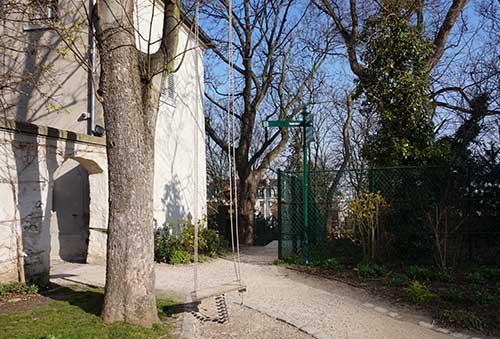 Musée de Montmartre e o balanço de Renoir