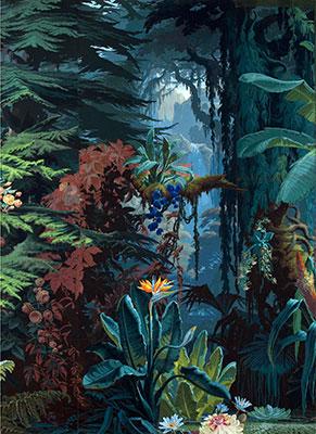 Papel de parede vegetação exótica
