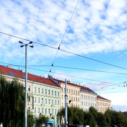 Fachadas de Praga