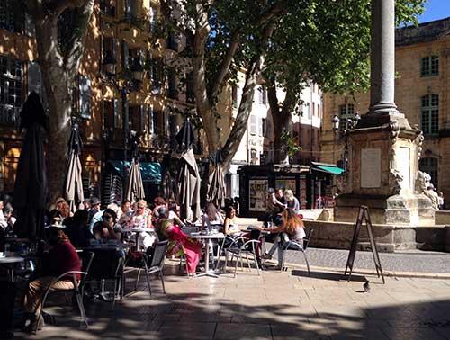 Café na Provence