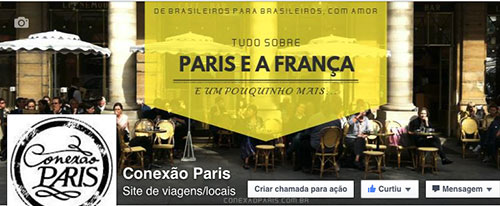 Conexão Paris Página Facebook