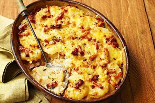 Tartiflette. Foto de www.taste.au