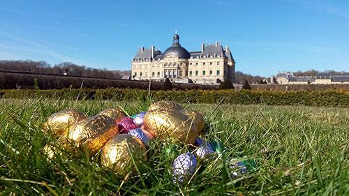 Páscoa no castelo Vaux le Vicomte