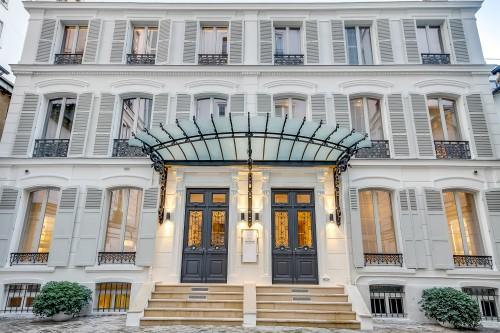 Hotel particulier sede da Biologique Recherche em Paris