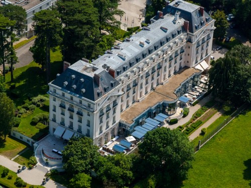 Vista aérea do Trianon Palace