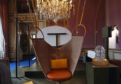 Swing Chair (Patricia Urquiola pour les Objets Nomades de Louis Vuitton)