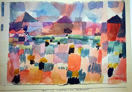 Paul Klee, Saint Germain b. Tunis