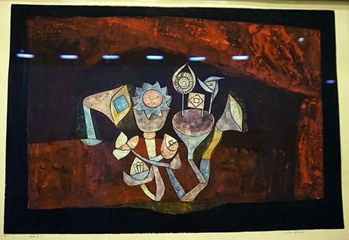 Paul Klee, plantas das grutas