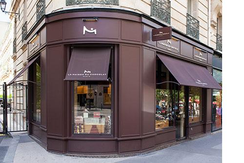 Chocolate sem açúcar da Maison du Chocolat